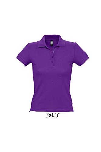 Ladies Polo People 210 Dark Purple M