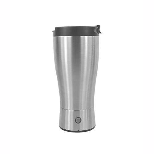 Latest Designed Vacuum Insulated Stainless Steel Tumbler,16oz Double Wall Self Stirring Coffee Mug for Office,Travel and ()