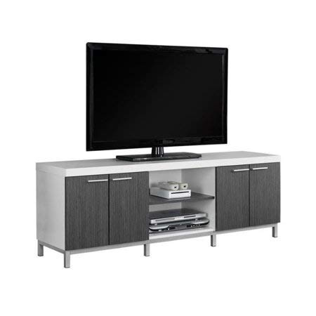 Amazon Com Elegant Tv Stand With Two Open Storage Shelves Two