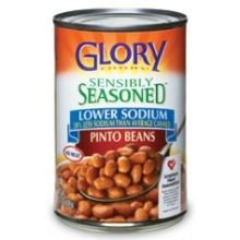 Glory Foods Seasoned Pinto Beans, 15.5-Ounce (Pack of 12) by Glory Foods