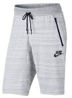 ナイキ メンズ Nike Advance 15 Knit Shorts ショーツ バスパン ハーフパンツ White [並行輸入品] B07JYTTNN7  L