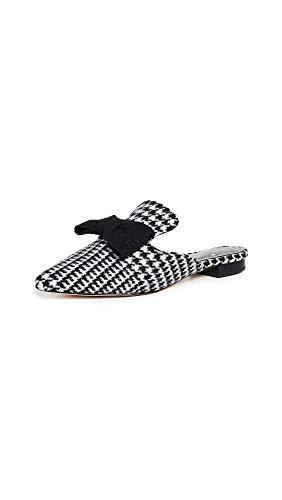 - Kate Spade New York Women's Karin Point Toe Mules, Black/White, 7.5 M US
