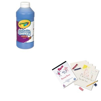 kitcyo543115042pac2423-value-kit-pacon-multi-program-picture-story-paper-pac2423-and-crayola-artista