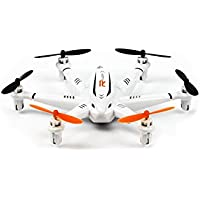 JJRC RC Quadcopter Mini Drone 4 Channel 2.4GHz 6-Axis Gyro Helicopter with LED Lights Headless Mode 3D Roll Toys For Adult Kids Aerial Photography Racing, by ECLEAR