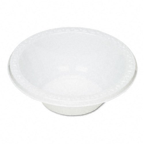 (Tablemate : Plastic Dinnerware, Bowls, 12 Ounces, White, 125 per Pack -:- Sold as 2 Packs of - 125 - / - Total of 250 Each)