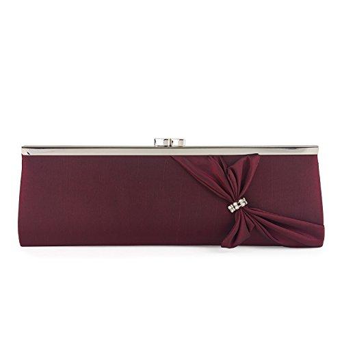 90619 Pochette Bordeaux Rouge Pochette Farfalla Farfalla 90619 qx40ZS7
