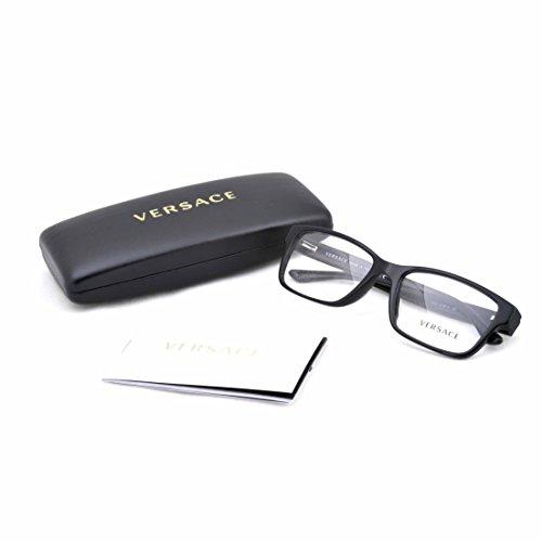 Versace Men's VE3198A Eyeglasses Black 55mm by Versace (Image #4)