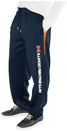 G-III Sports NCAA Illinois Illini Men's Endurance Sweatpant, Navy, XX-Large ()