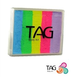 TAG Face Paint Split Cake - EXCL Happy Hippie 50gr #28