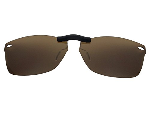 Custom Fit Polarized CLIP-ON Sunglasses For Ray-Ban RB5228 55X17 - Rb5228 Clip On