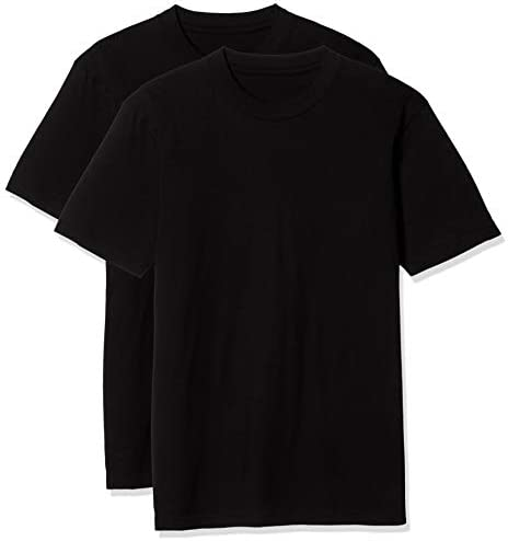 Tシャツ 綿100% 半袖 クルーネック 同色2枚組 KP-709 メンズ