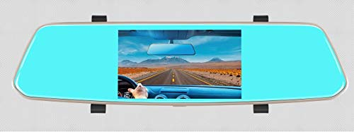 (1080P, 5 inches Rearview DVR, with Dual Camera, HD resolution, Mirror function and night vision)