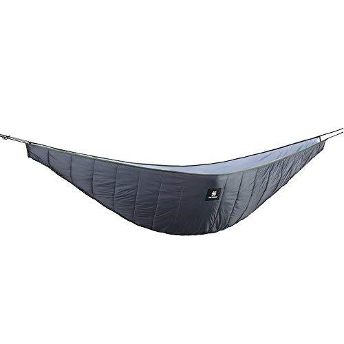 - OneTigris Hammock Underquilt, Lightweight Camping Quilt, Packable Full Length Under Blanket (Shadow Grey - 3 Seasons Underquilt)