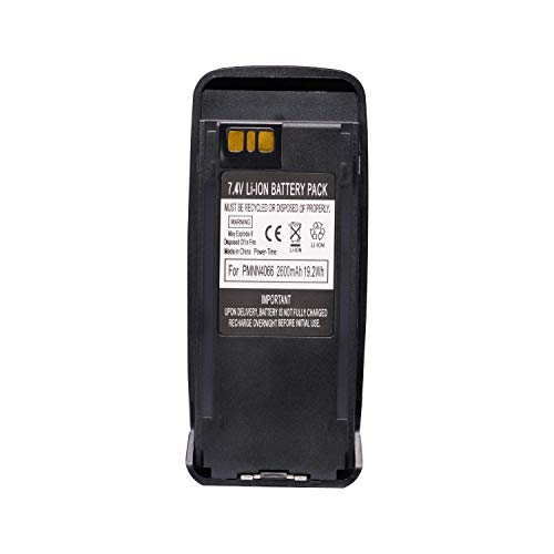 PMNN4077, PMNN4077C, PMNN4066 Battery, Compatible with Motorola XPR6550, PR6380, XIRP6500 and More Models, Click to Find Out More [2019 upgraded model, High Capacity, 2600mAh, 19.2Wh, 7.4V, Li-ion] by SolarMatrix (Image #5)