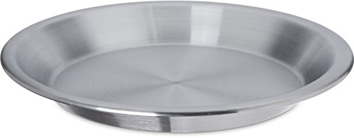 Carlisle 60322 Pie Pan, 9'', Aluminum (Pack of 24) by Carlisle