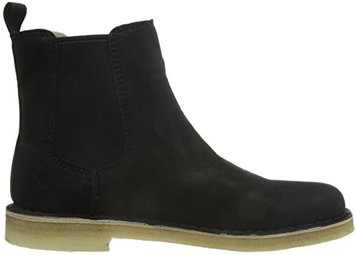 Clarks Desert Peak W Stiefel black leather