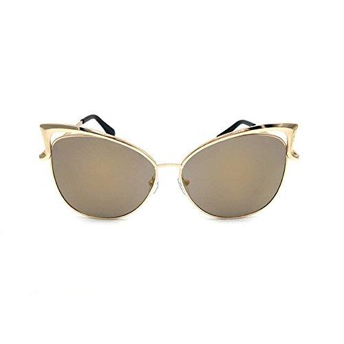 Trydoit Femmes Lunettes De Soleil Oreille De Chat Classic Tone Mirror Sunglasses Qute Lunettes Douces (Orange) Lh9izFNa