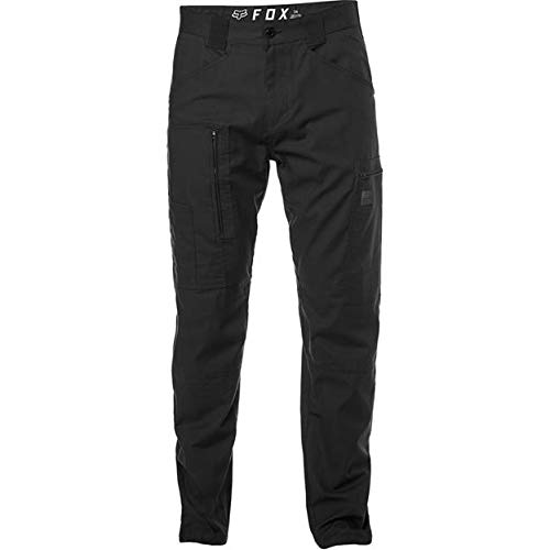 Fox Racing Redplate Tech Cargo Pant: Black Size 32 (Fox Racing Black Belt)