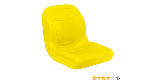 2 Pack Stens 420-179 High Back Seat Yellow for John Deere AM133476 VG11696 Gator