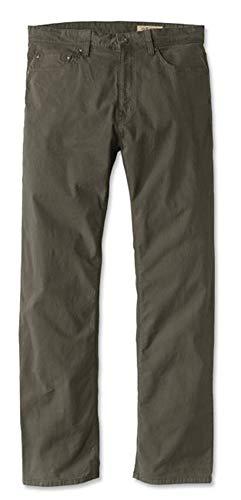 Orvis Men's 5-Pocket Stretch Twill Pants, Olive, 38, Inseam: 32 ()