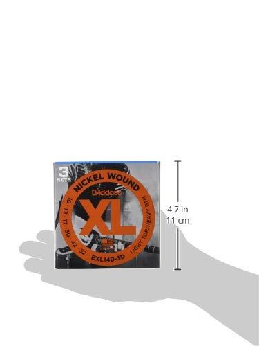 9-42 Super Light DAddario EXL120 Set di Corde Rivestite in Nickel per Chitarra Elettrica