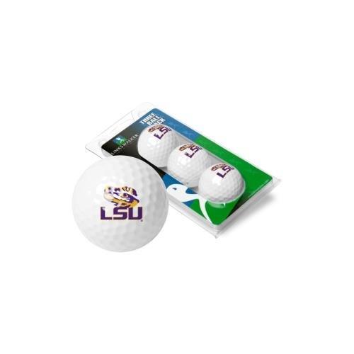 LinksWalker NCAA LSU Tigers - 3 Golf Ball Sleeve