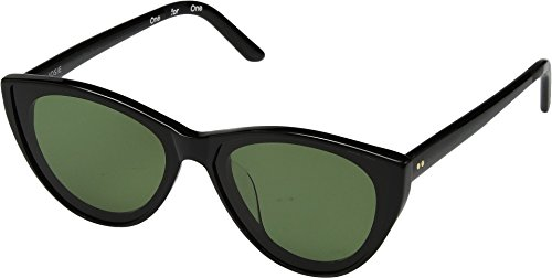 TOMS Women's Josie Shiny Black One - Josie Sunglasses