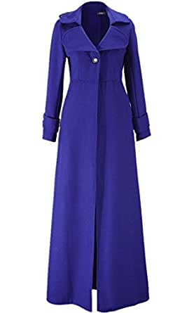 Amazon.com: Tengfu Women's Winter Elegant Full Length Slim