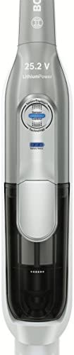 Bosch BBH52550 Aspirateur Balai 2400 W, 0,9 L, Noir/Argent/Blanc