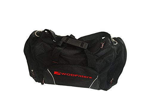 New and Improved WODFitters Gym Duffel Bag for Women and Men - 22