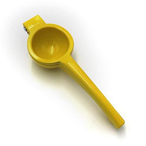 iUcar Manual Hand Pressure Fruit Juicer Lemon Squeezer Citrus Orange Juicer Yellow