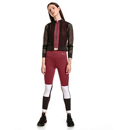 PUMA x Selena Gomez Women's Mesh Jacket, -puma black, L