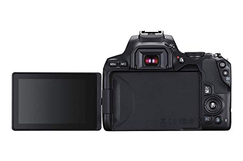 Canon EOS 250D (Rebel SL3) DSLR Camera with 18-55mm & 75-300mm Canon Lenses & Essential Accessory Bundle – Includes…