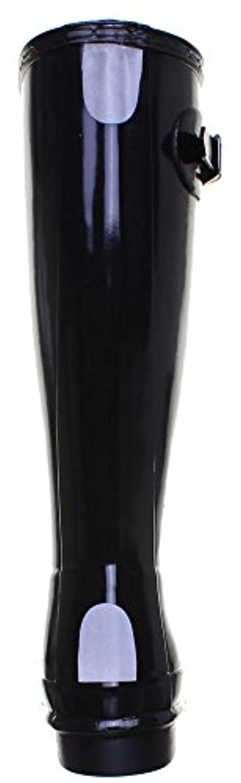 Hunter Orig Kids Gloss Junior Rubber Boots (1 UK, Black)