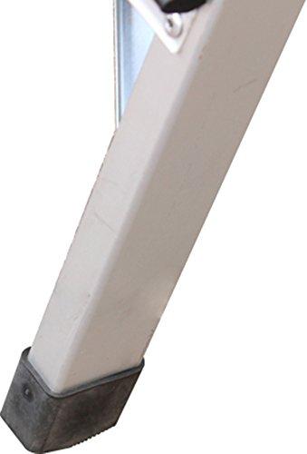 Hyfive Aluminium 5 Leiter mit rutschfeste Trittstufen Lightweight Aluminium EN 131