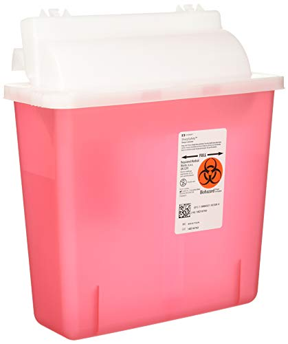 Container Sharpstar In-Room Mailbox Lid Red 5qt ()
