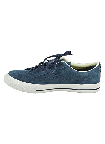 Tennis Basses Suédine Bleu - 40, Bleu