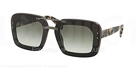 b4997d92ed3b Image Unavailable. Image not available for. Colour  Sunglasses Prada 30RS  Ebony Malabar Square
