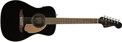 Fender Malibu Player - California Series Acoustic Guitar - Jetty Black