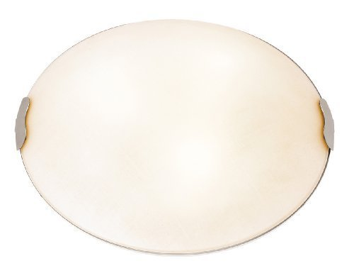 (Access Lighting 23022-BS/TEX 2 Light Linen Flush Mount Ceiling by Access)