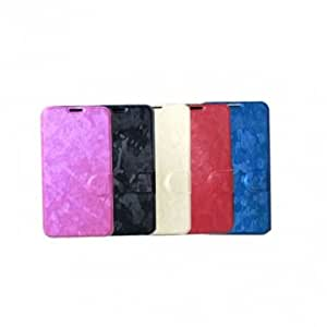 Colorful Leather Stand Case For Samsung Galaxy S5 I9600 --- Color:White -Big Paw Trading