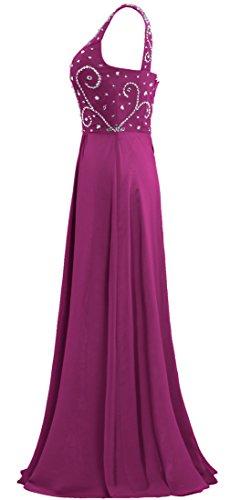 Mousseline De Soie Des Robes De Bal De Perles Longue Robe Épaule Marron De Fourmis Femmes