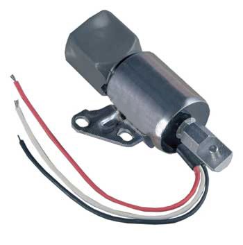 New Fuel Cutoff Solenoid Fits Kubota D722 D902 Z482 Engines 17520-60012 Discount Starter and Alternator