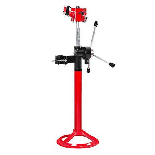 Goplus 20'' Strut Coil Spring Press Compressor Hand Operate Auto Equipment Compress, Red by Goplus (Image #9)