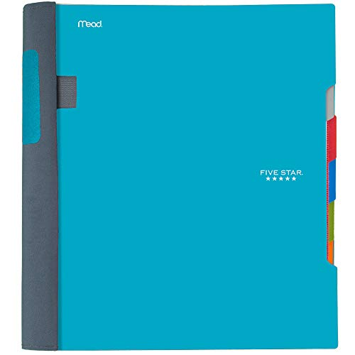(Five Star Advance Spiral Notebook, 5 Subject, College Ruled Paper, 200 Sheets, 11