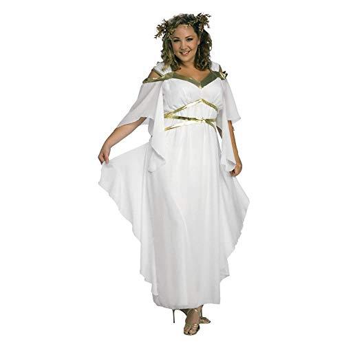 Rubies Womens Roman Goddess Costume ,White,One Size -