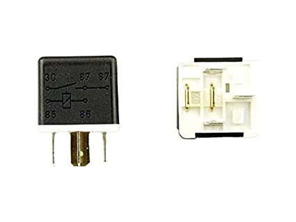 amazon com hella h41510171 dual 87 12v 40 amp spst relay automotive relay wiring diagram hella h41510171 dual 87 12v 40 amp spst relay