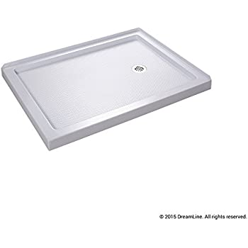 High Quality DreamLine SlimLine 36 In. X 60 In. Double Threshold Shower Base, Right Hand