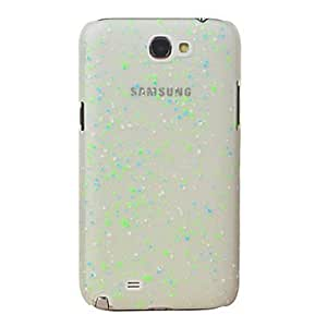 Little Dots Design Night-Glow Pc Case for Samsung Galaxy Note2 N7100 (Assorted Colors) --- COLOR:Green