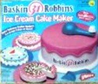 amazon com baskin robbins ice cream cake maker toys games